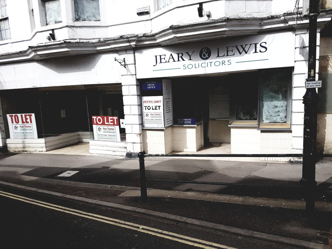 Chippenham Empty Shops